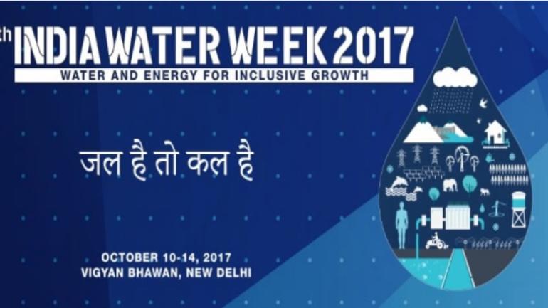 India Water Week-2017 on 14th October, 2017 at VigyanBhavan, New Delhi