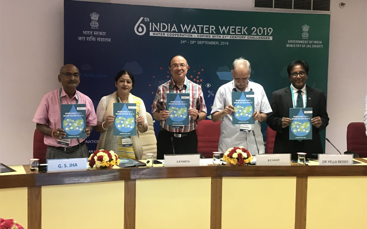 India Water Partnership launches the GWP Strategy 2020-2025 at India Water Week-2019