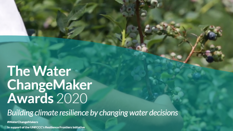 The Global Water ChangeMaker Awards 2020